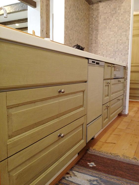 うーの家 新築 オリジナルキッチン