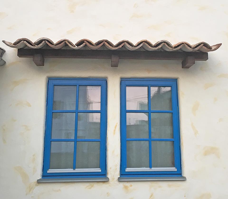 うーの家 木製断熱窓 回転窓 アンティーク 新築住宅 福岡 佐賀