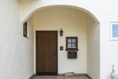 プロヴァンス風の玄関