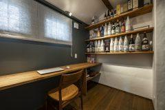 書斎と飾り棚